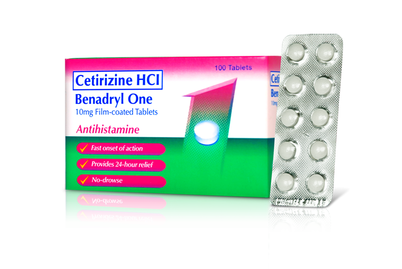 Benadryl One Tablet Benadryl